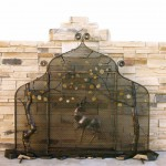 Hand Forged Fireplace Screen