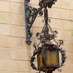 кованые светильники, коваННые