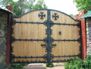 кованые ворота двери